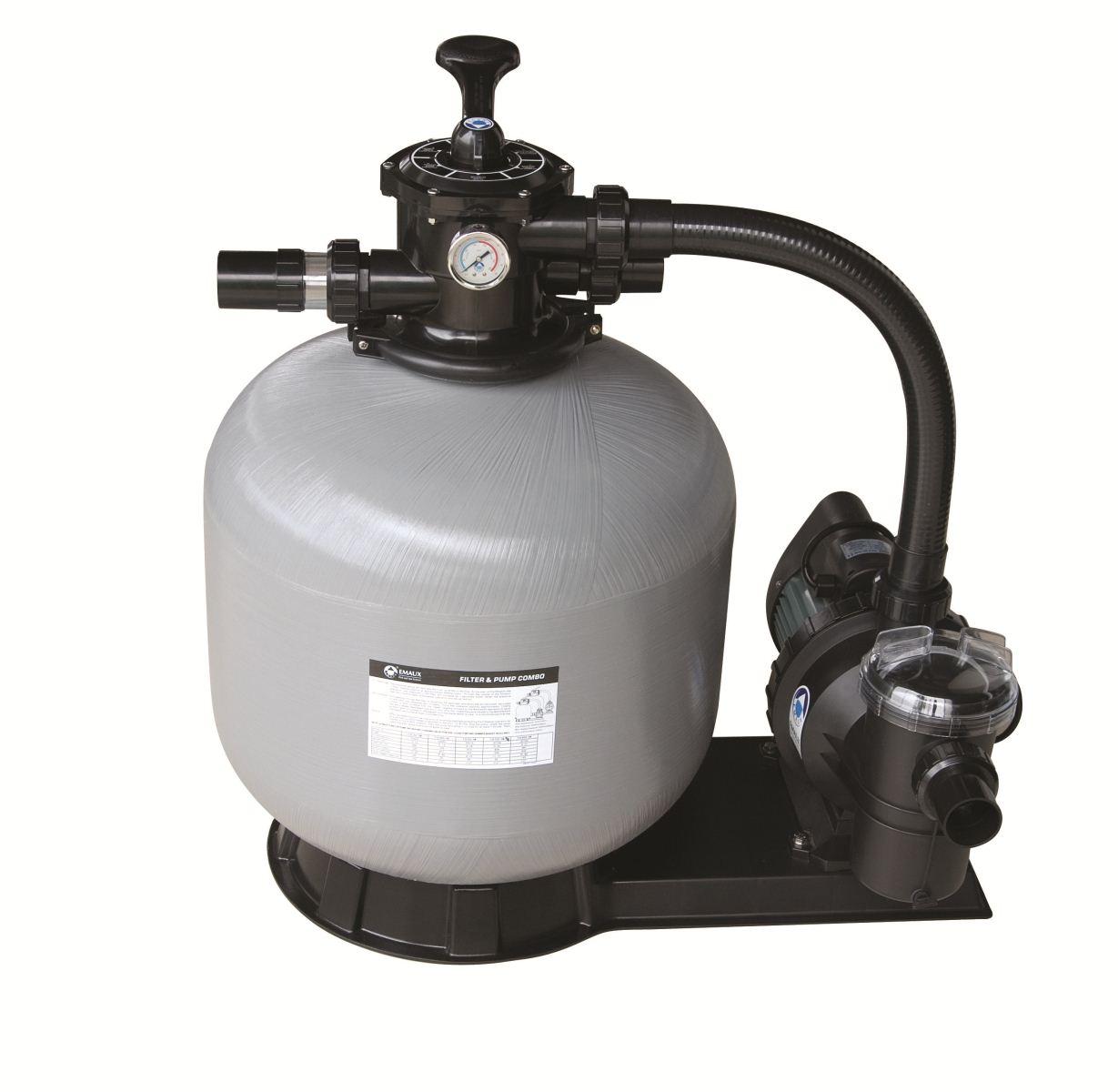 thiết bị lọc nước bể bơi bao gồm bình lọc nước và máy bơm