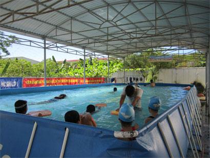 xây dựng bể bơi trường tiểu học ngô gia tự