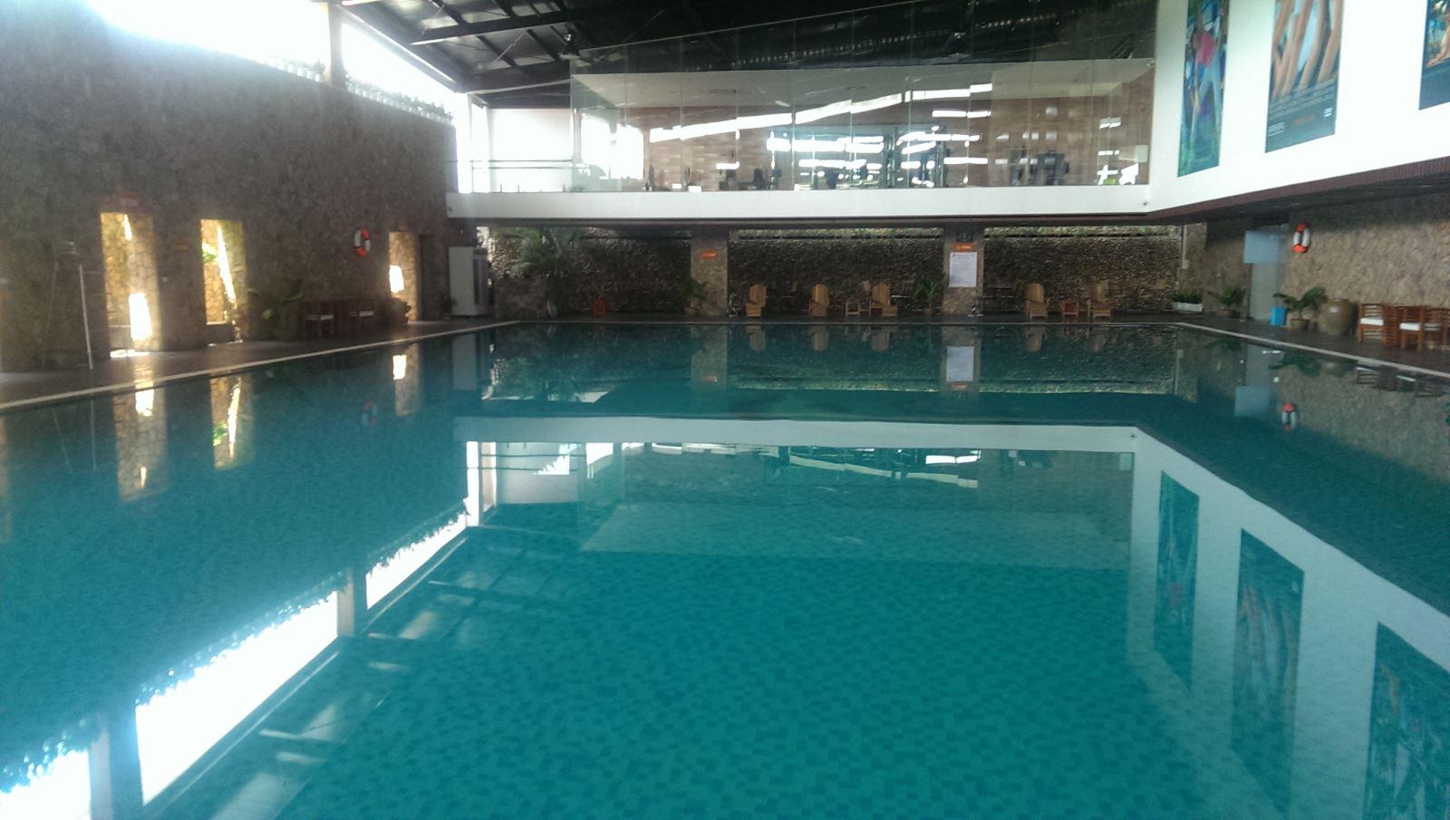 Xây dựng bể bơi trong nhà- nét kiến trúc thông minh tinh tế