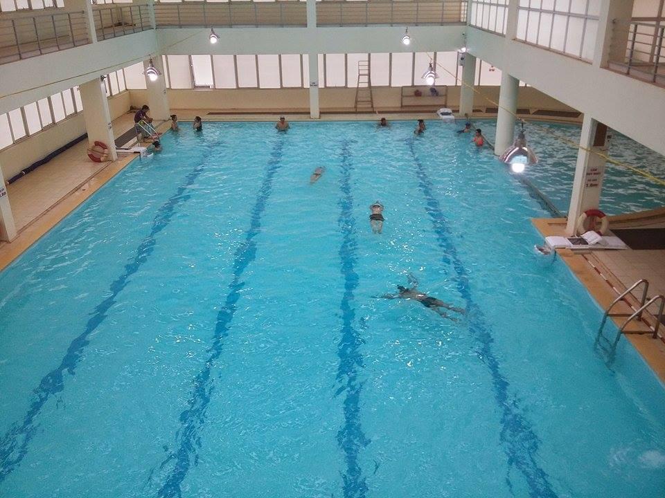 Bể bơi bốn mùa Số 7 Tôn Thất Thuyết - sựa lựa chọn đúng đắn để luyện tập bơi lội