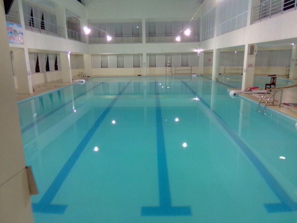 Kết quả hình ảnh cho Bể bơi bốn mùa Tôn Thất Thuyết