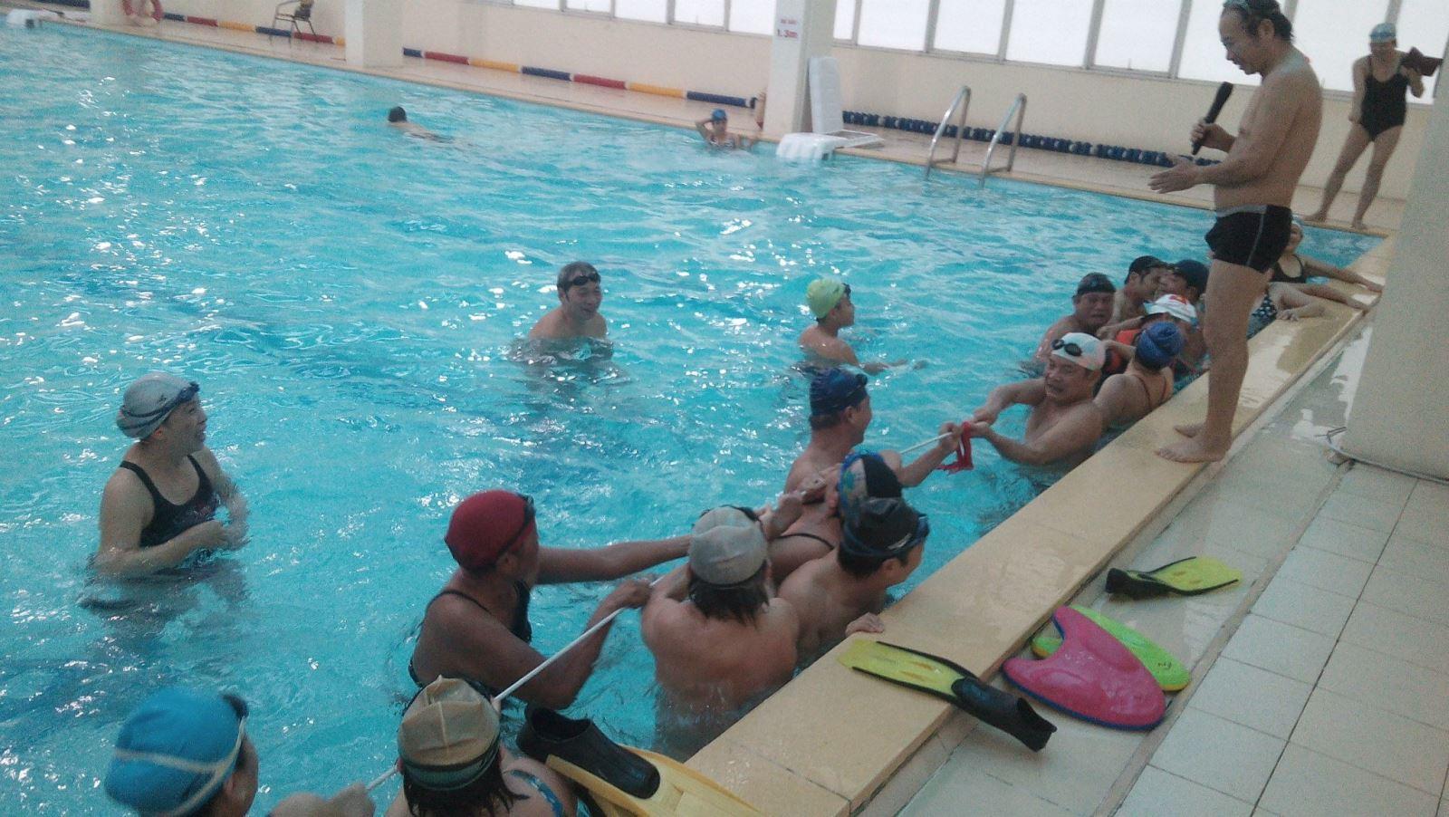 Giấy phép hoạt động xây dựng bể bơi kinh doanh