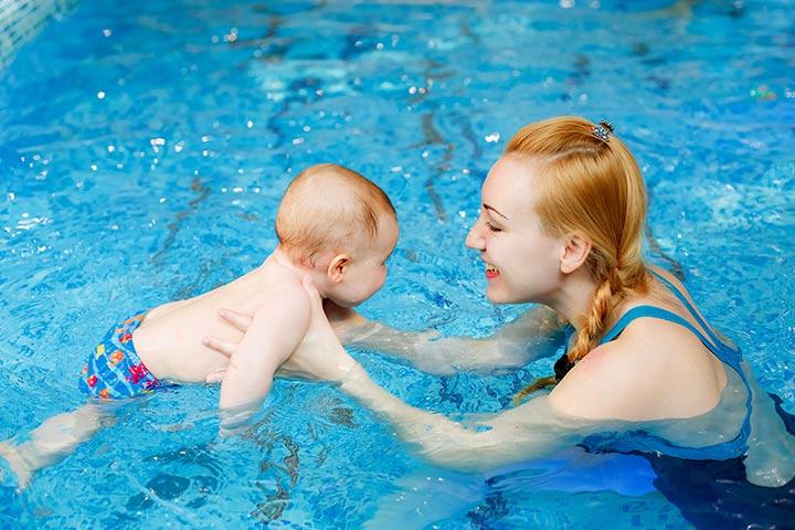 Môi trường tuyệt vời từ bơi lội