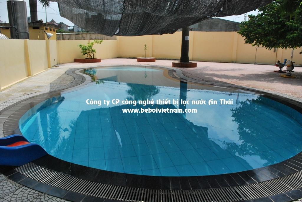 Xây dựng bể bơi trẻ em- sự tiện lợi và lợi ích sử dụng