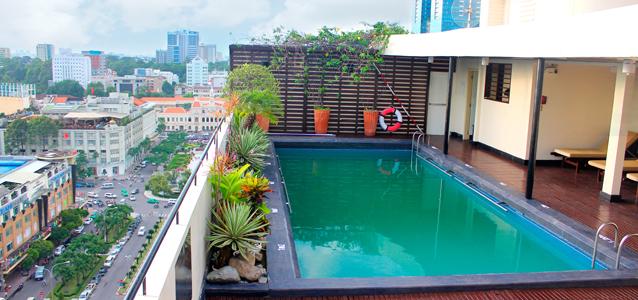 Xây dựng bể bơi trên tầng thượng